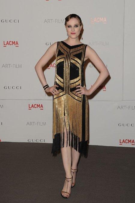 Evan Rachel Wood dorado