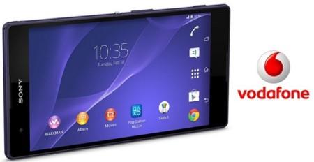 Precios Sony Xperia T2 Ultra en exclusiva con Vodafone