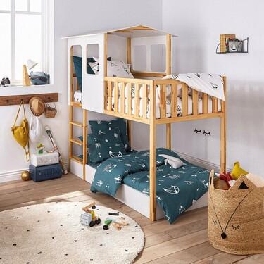 6 camas infantiles bonitas y diferentes que transformarán por completo el cuarto de tus peques