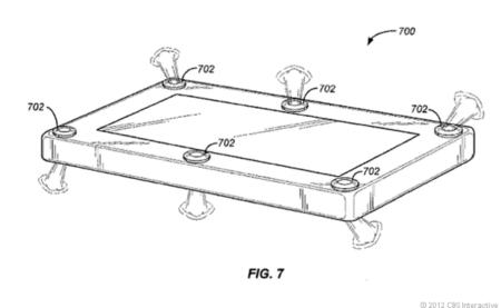Amazon ya tiene su patente para gadgets con airbag