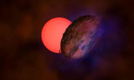 """Esta estrella en el centro de la Vía Láctea """"se apaga y enciende"""" cada 200 días"""