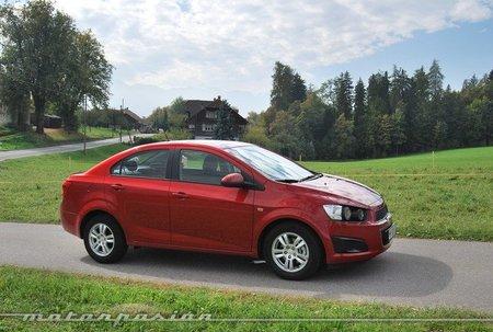 Chevrolet Aveo Diesel, presentación y prueba en Suiza