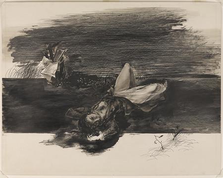 Murderer, Kuniyoshi, 1944