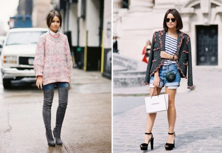 Miroslava Duma Fashion Week Look 3