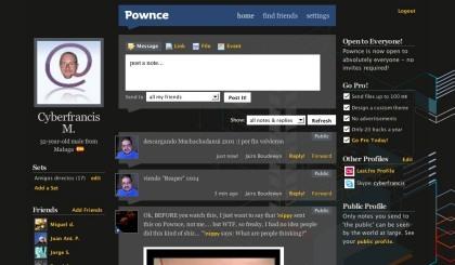 Novedades en la red de microblogging Pownce
