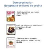 Librería gastronómica, Derecoquinaria