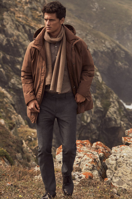 Pedro del hierro conecta con los colores de la tierra en su colección de invierno