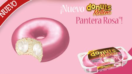 Donut Relleno Pantera Rosa