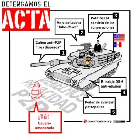 La oligarquía del copyright llama a aprobar 'rápidamente' el ACTA