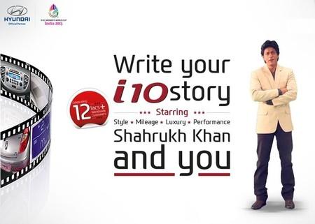 Shahrukh Khan - Hyundai i10