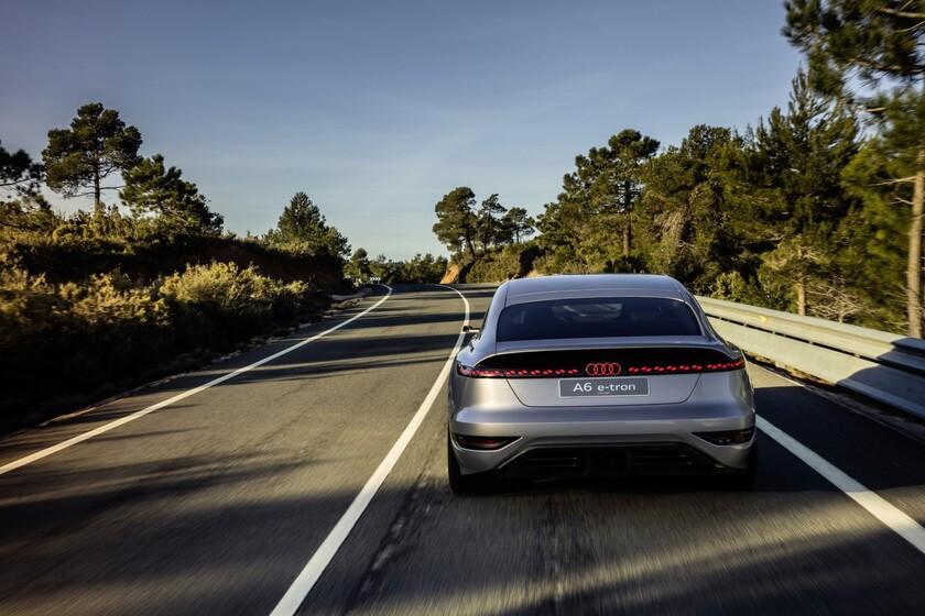 ¡Desvelado! El Audi A6 e-tron concept es un coche eléctrico con 700 km de autonomía que adelanta los futuros compactos de Audi
