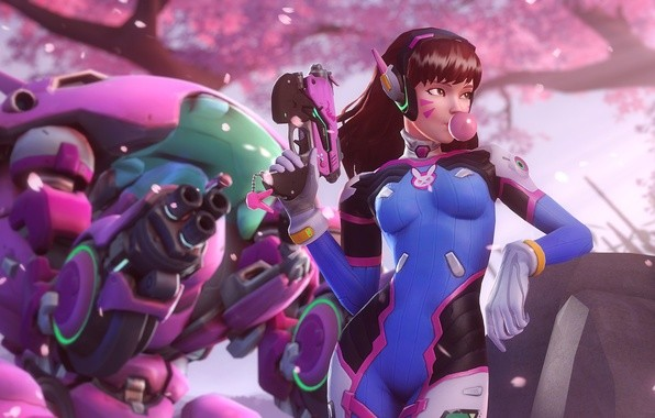 Hana Song Overwatch D Va