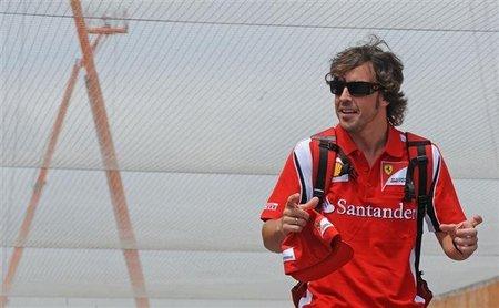 Fernando Alonso repasa los grandes premios que quedan de 2011