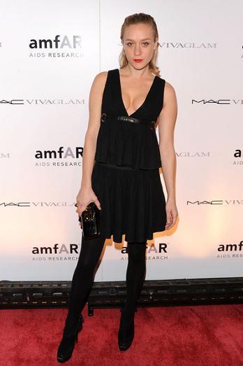 Alfombra roja en la gala amfAR de Nueva York