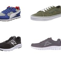 Chollos en tallas sueltas de zapatillas New Balance, Vans, Puma o Kappa por menos de 25 euros en Amazon