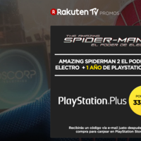 The Amazing Spider-man 2: El poder de Electro + 12 meses de PlayStation Plus por 33,99 euros