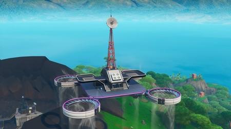 Desafío Fortnite: visita todas las plataformas celestes. Solución