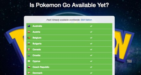 Is Pokémon Go Available Yet?