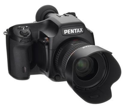 Pentax 645D, nueva cámara de formato medio de 40 megapíxeles