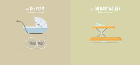 La vida sobre ruedas a través de las ilustraciones de Richard Beerens