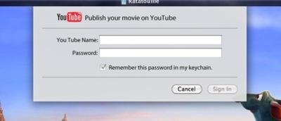 QuickTime X tendrá integración con Youtube