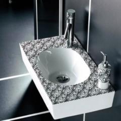 Foto 3 de 6 de la galería lavabos-decorados-de-bathco-con-accesorios-a-juego en Decoesfera