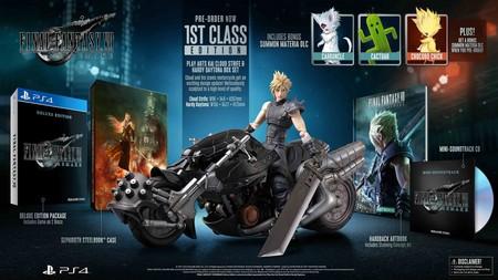 Final Fantasy Vii Remake Edicion Coleccionista