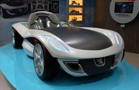 Peugeot Flux Concept en el Salón de Frankfurt
