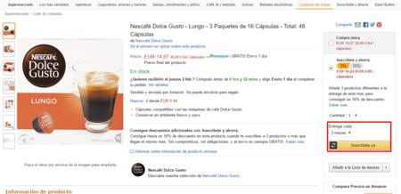 Nescafe Dolce Gusto Lungo 3 Paquetes De 16 Capsulas Total 48 Capsulas Amazon Es Supermercado