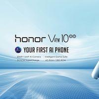 El Huawei Honor View 10 alcanza su precio más bajo en Amazon: 399 euros y envío gratis