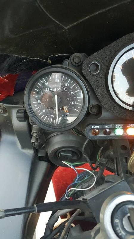 Honda Cbr 900 Rr Terciopelo 4