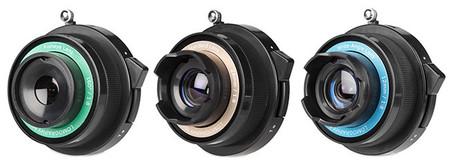 Objetivos experimentales de Lomography para cámaras Micro Cuatro Tercios