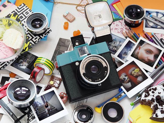 Lomography Diana Instant Square: una instantánea con lentes intercambiables y zapata caliente