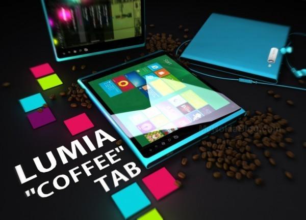Nokia Windows 8 tablet concepto