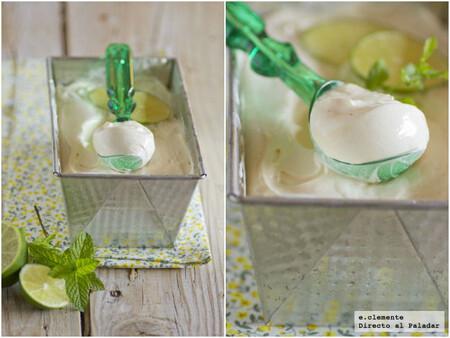 Helado de lemon curd, receta cremosa y refrescante para amantes del limón