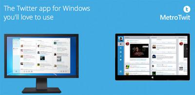 MetroTwit, el interesante cliente de Twitter para Windows anuncia su retiro