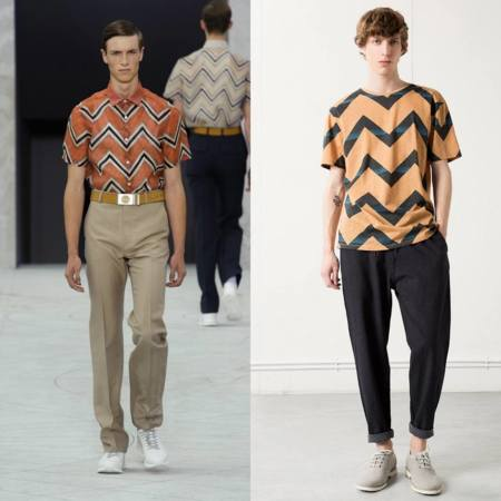 Print Chevron Louis Vuitton En Bershka