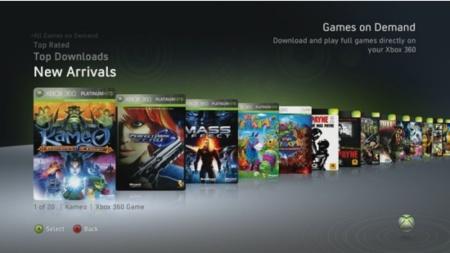 Xbox 360 con descarga de juegos ya está disponible