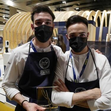 Javier Sanz y Juan Sahuquillo, chefs del restaurante Cañitas Maite (Albacete), cocineros revelación de Madrid Fusión