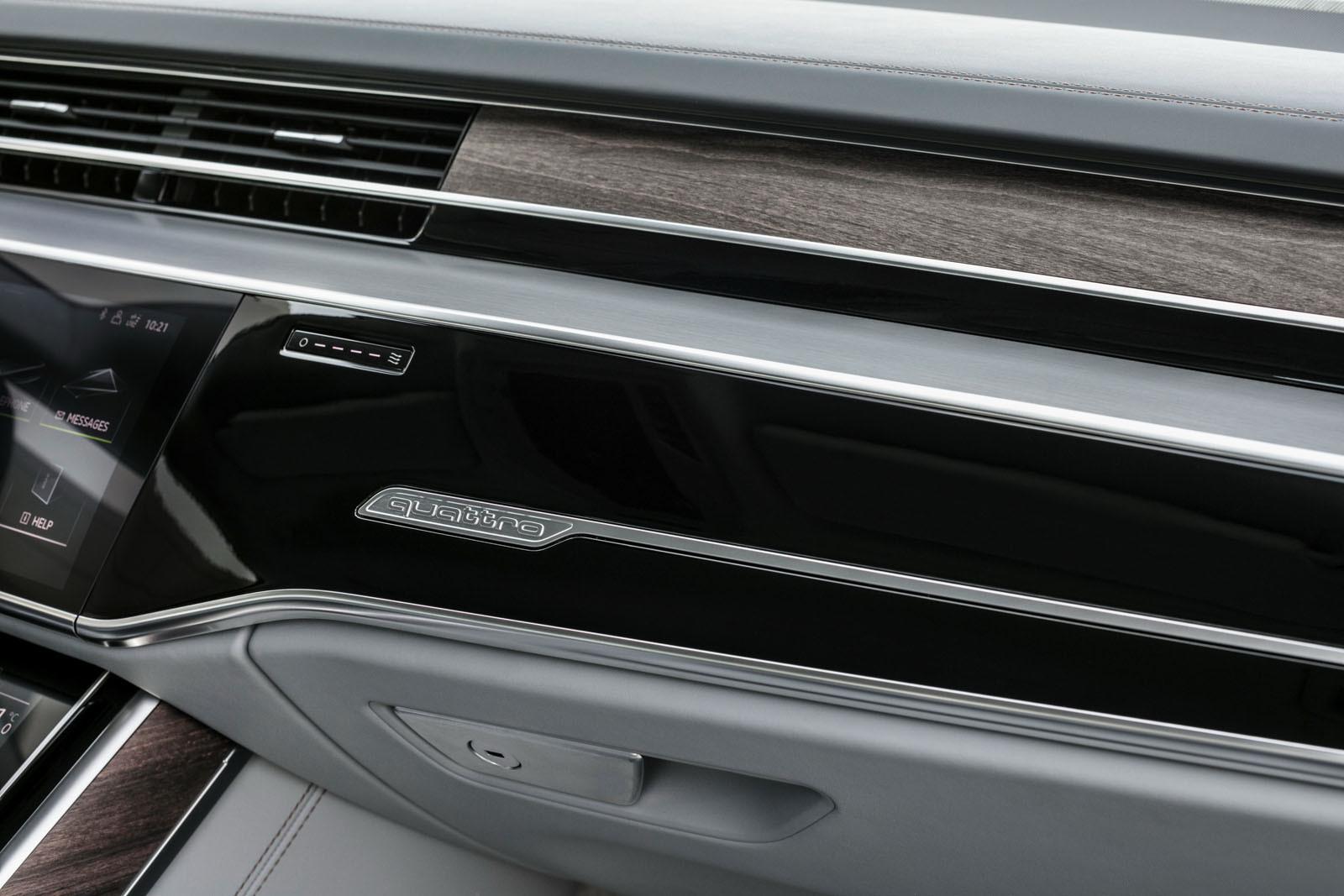 Foto de Audi A8 2018 (presentación) (33/81)