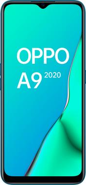 "OPPO A9 2020 - Smartphone de 6.5"" HD+, 4G Dual Sim, 8 Core, 128 GB, 4 GB RAM, 48 + 8 + 2 + 2 MP, 16 MP, Verde Marino"