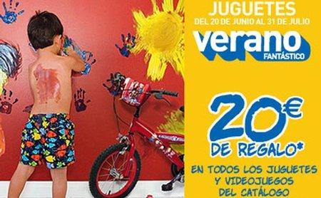 20% o 20€ en juguetes y videojuegos con 'El Corte Inglés'