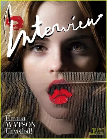 Emma Watson magnífica en el editorial de Interview