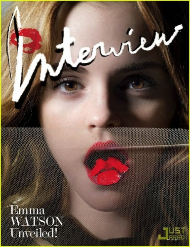 Emma Watson magnífica en el editorial de Interview