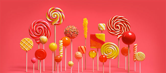 Android Lollipops Banner