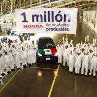 Honda celebra la fabricación de 1 millón de unidades producidas en México