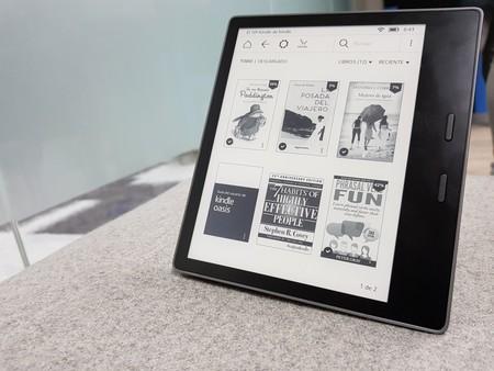 Kindle Oasis 2017: más pantalla, más memoria y por fin con resistencia al agua