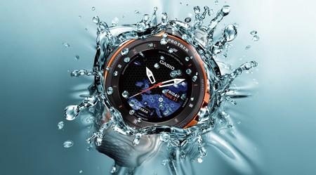 Casio Pro Trek WSD-F30: un smartwatch para aventureros con pantalla de doble capa OLED y monocromo