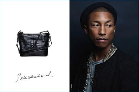 Pharrell 2017 Chanel Gabrielle Campaign Portrait