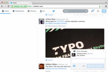 Llegan las notificaciones a la versión web de Twitter